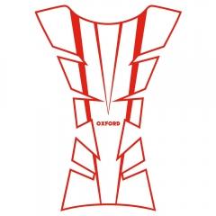 KURO BAKO LIPDUKAS OXFORD Sheer Arrow Tank Pad - Red