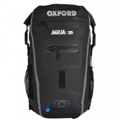 OXFORD KUPRINĖ AQUA B-25 BACKPACK - JUODA/PILKA