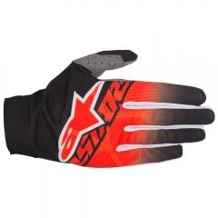 MX PIRŠTINĖS Alpinestars Dune Design Two: Black/Red/White