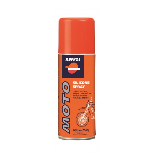 Valiklis REPSOL MOTO SILICONE SPRAY 400ml