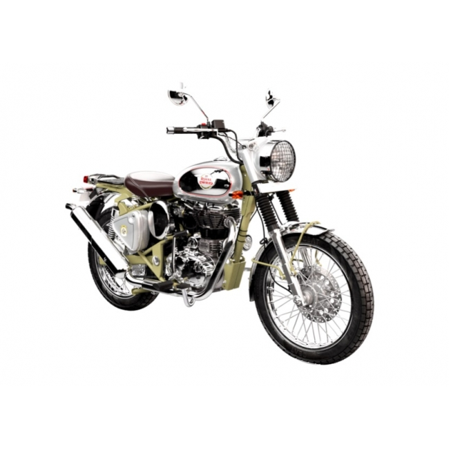 MOTOCIKLAS ROYAL ENFIELD BULLET TRIAL WORKS REPLICA 500 EURO 4 ABS