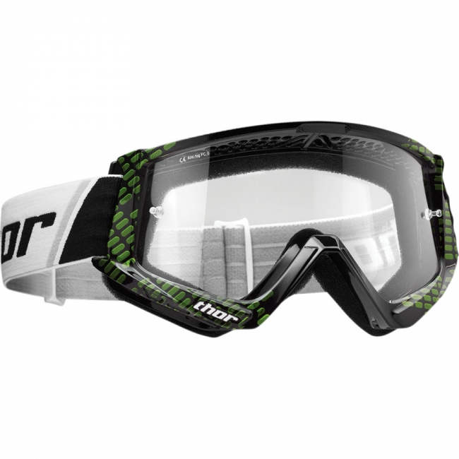 OFF-ROAD AKINIAI THOR COMBAT BLACK/LIME