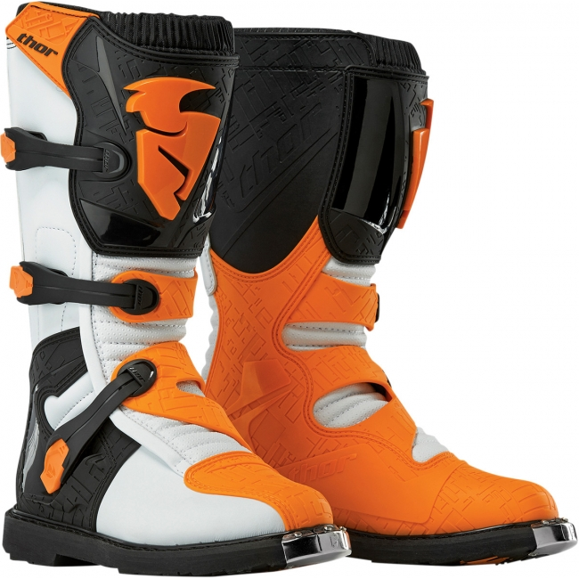MX BATAI THOR BLITZ WHITE/ORANGE