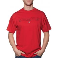 Marškinėliai THOR PURE MOTO RED