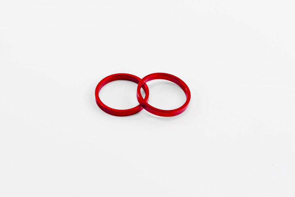 Puig Spare KIT Rings BAR END C/RED Motors Automotive futurepost.co.nz