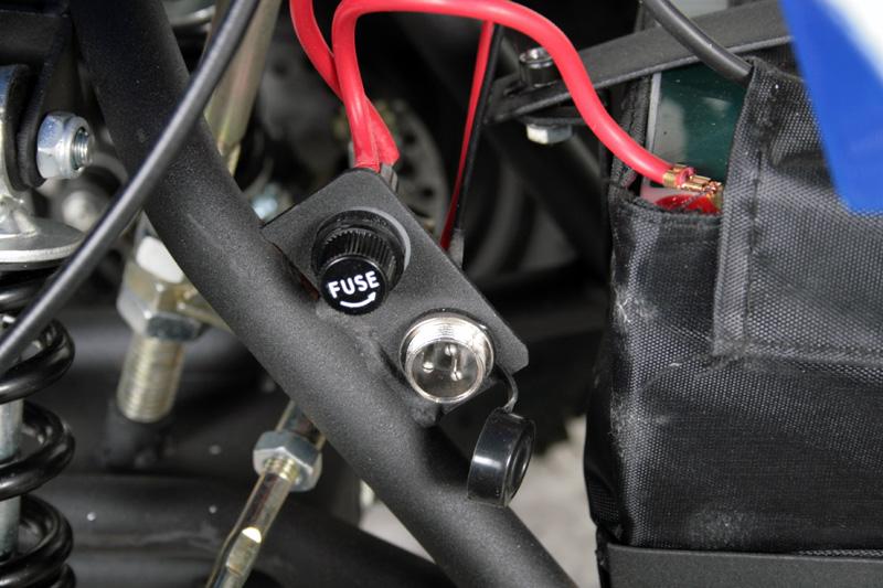 Elektrinis Keturratis Eco Anaconda 800w 36v