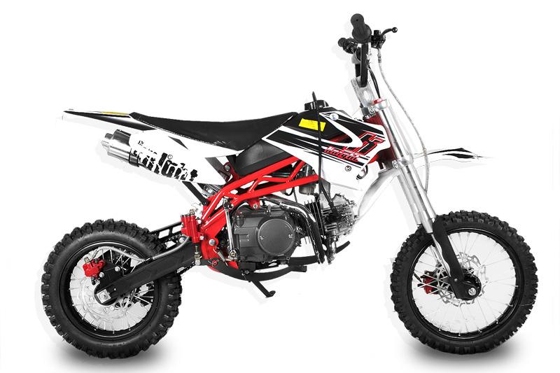 125ccm Sky Dirtbike 17//14 Deluxe Crossbike Pitbike Enduro Motocross